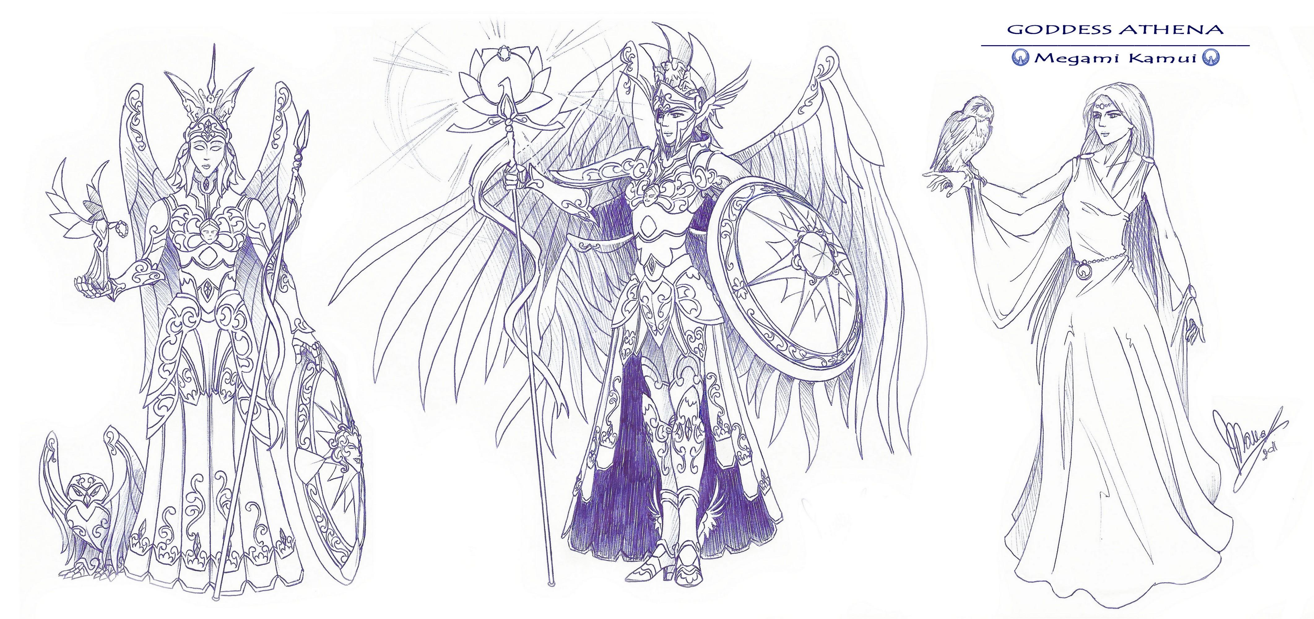 Gods | Fanfic Saint Seiya Infinity by TornadoIDS-Simon